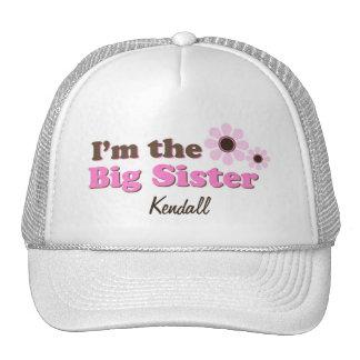 Soy las flores de la MOD de la hermana grande Gorras