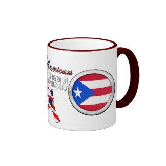 Soy latinoamericano tazas de café
