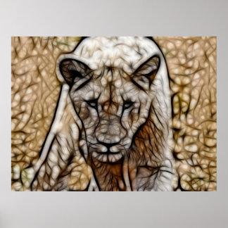 Soy león póster