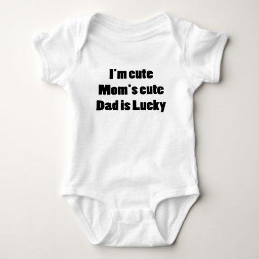 Soy LINDO MIS MAMÁES que EL PAPÁ LINDO ES Body Para Bebé