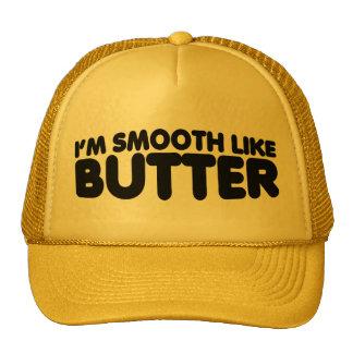 Soy liso como la mantequilla gorras de camionero