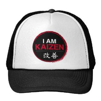Soy logotipo de Kaizen - mejora continua Gorras