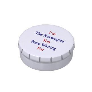 Soy los noruegos que usted esperaba latas de caramelos