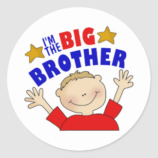 Soy los pegatinas de hermano mayor