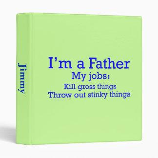 Soy los trabajos de un padre divertido del padre p