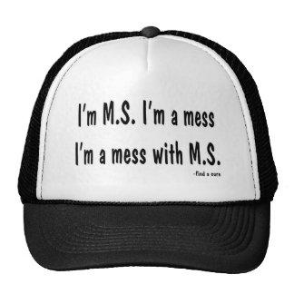 Soy M.S. Soy un lío, yo soy un lío con M.S Gorra