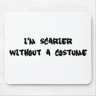 Soy más asustadizo sin un traje tapete de ratón