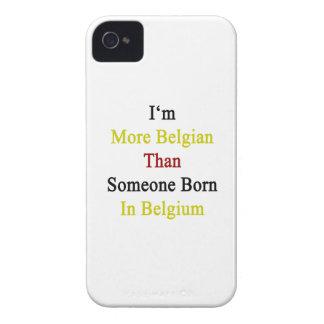 Soy más belga que alguien nacida en Bélgica iPhone 4 Coberturas