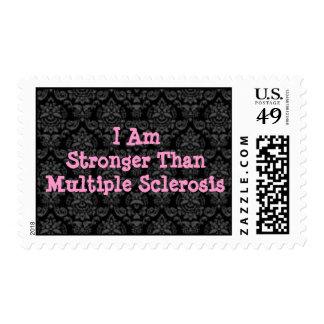 Soy más fuerte que franqueo del ms timbre postal