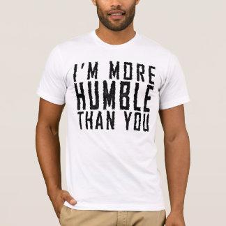 Soy más humilde que usted playera