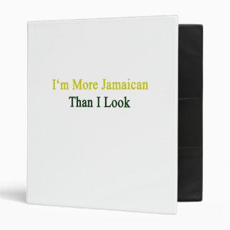 Soy más jamaicano que miro carpeta 2,5 cm