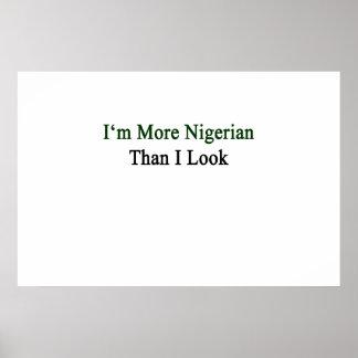 Soy más nigeriano que miro póster
