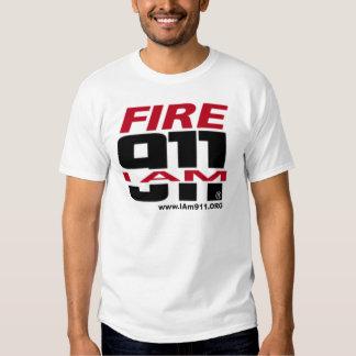 ¡Soy materia de 911 logotipos para el fuego, el Poleras