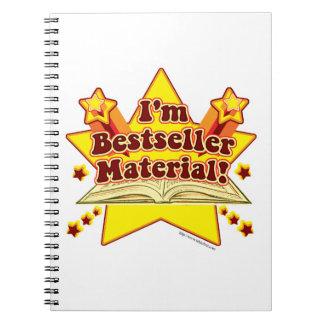 Soy material del bestseller notebook