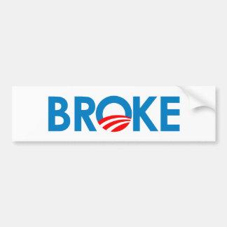 Soy me rompí pegatina para auto