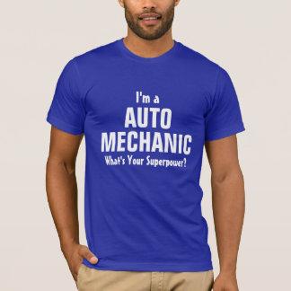 ¿Soy mecánico de automóviles cuál es su Playera