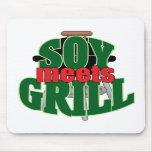 Soy Meets Grill Mousepads