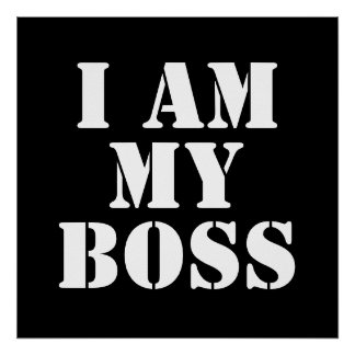 Soy mi Boss. Lema Póster