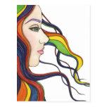 Soy mi propia postal del arco iris