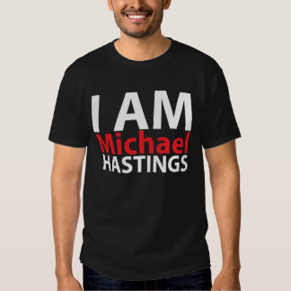 Soy Michael Hastings Remeras
