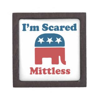 Soy Mittless asustado Cajas De Regalo De Calidad