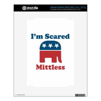 Soy Mittless asustado Calcomanías Para NOOK