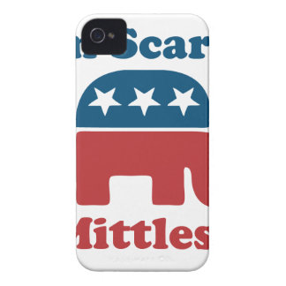 Soy Mittless asustado iPhone 4 Case-Mate Protectores