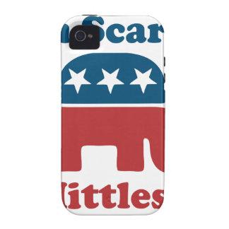 Soy Mittless asustado iPhone 4 Carcasa
