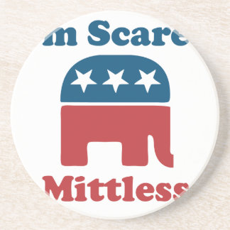 Soy Mittless asustado Posavasos Para Bebidas