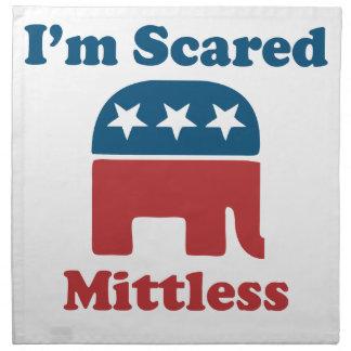 Soy Mittless asustado Servilleta De Papel