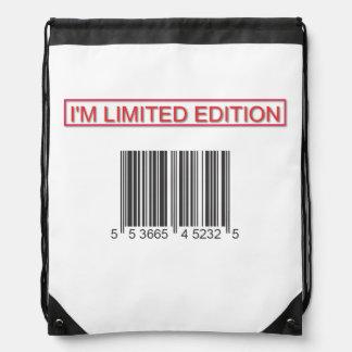 Soy mochila del lazo del código de barras de la ed