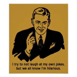 Soy muestra divertida hilarante del poster
