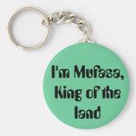 Soy Mufasa, rey de la tierra Llavero Redondo Tipo Pin