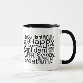 Soy mujer taza