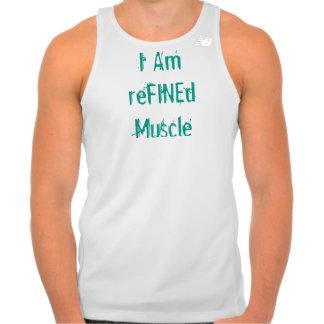 Soy músculo refinado camisetas