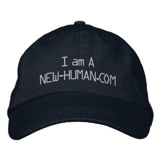 Soy negro de la gorra de béisbol de A New-Human.co