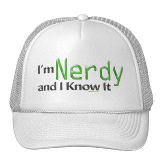 Soy Nerdy y lo sé gorra