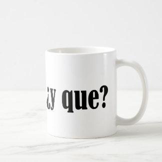 Soy Nica y Que Coffee Mug