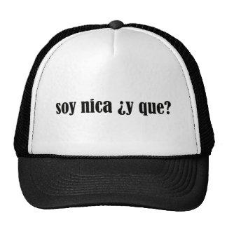 Soy Nica y Que Trucker Hat