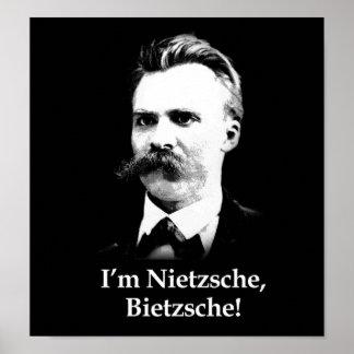 ¡Soy Nietzsche, Bietzsche! Póster