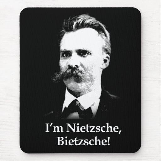 ¡Soy Nietzsche, Bietzsche! Tapetes De Raton