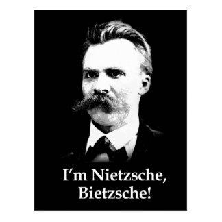 ¡Soy Nietzsche, Bietzsche! Tarjetas Postales