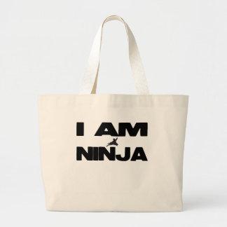 Soy Ninja Bolsa Tela Grande