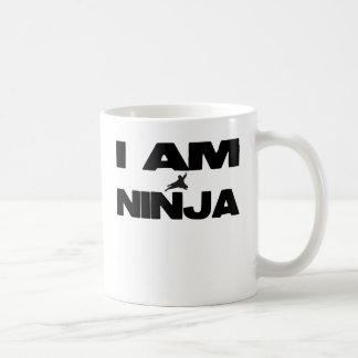Soy Ninja Taza Básica Blanca