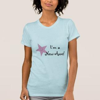 Soy nueva Shirt de tía Women's Camiseta