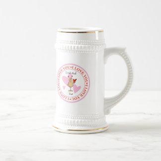 Soy Nuts sobre usted cerveza Stein del el día de S Taza De Café