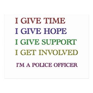 Soy oficial de policía postal