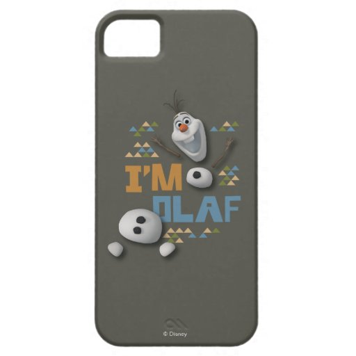 Soy Olaf Funda Para iPhone 5 Barely There