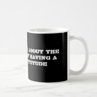 Soy optimista sobre la posibilidad de… taza clásica