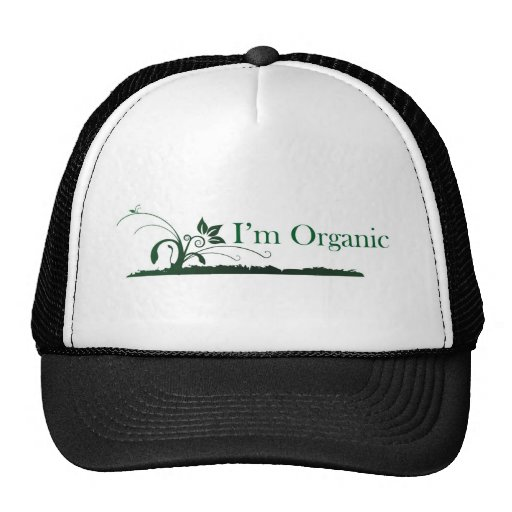 Soy orgánico gorro